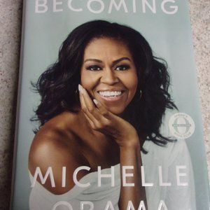 Michelle Obama Book Becoming Hard Back